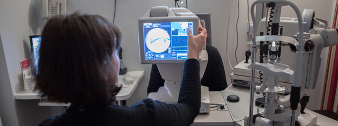 Eye Examinations in the London practice