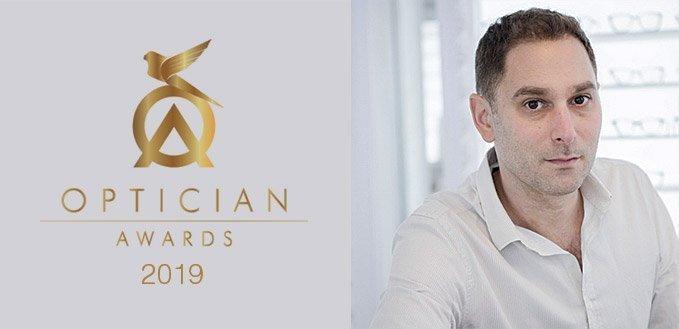Optician Awards judge