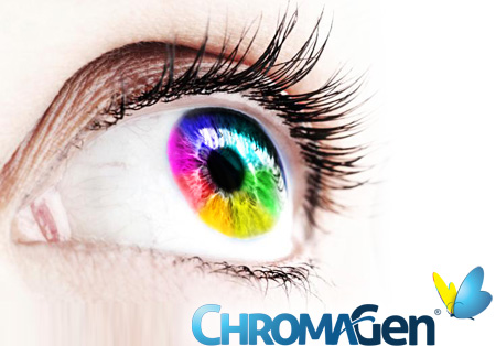 Chromagen Tinted Lenses available at Zacks London Eye Clinic