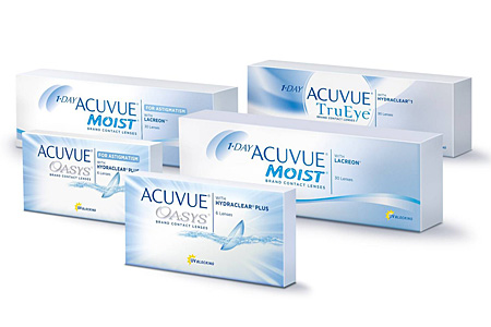 Disposable Soft Contact Lenses