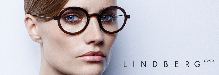 Lindberg Glasses Frames avaialble at Zacks Eye Clinic London.