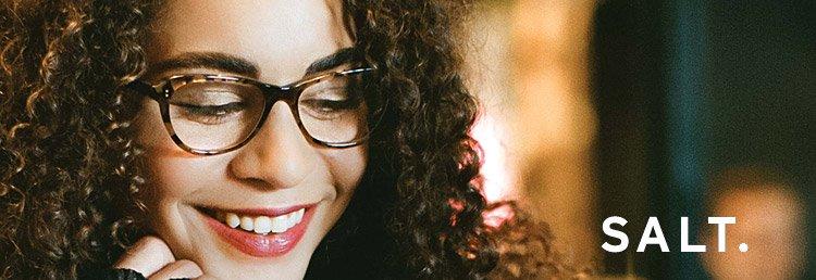 Salt glasses frames available at Zacks London Eye Clinic